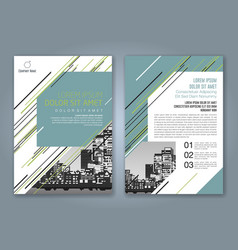 Cover annual report 937 vector