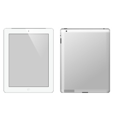 I pad tablet computer vector