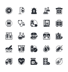 Medical and health icons 1 vector