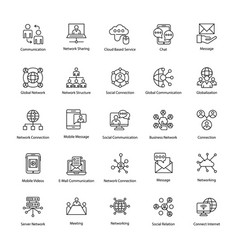 Network and communication set vector