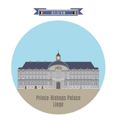 Prince Bishops Palace Liege vector