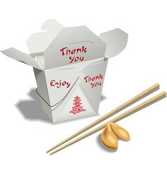 Chinese Take Out vector image