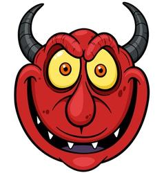Devil face vector image vector image
