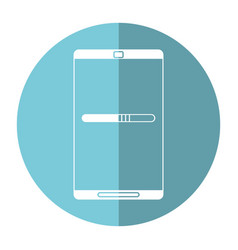 smartphone mobile technology charge image vector image vector image