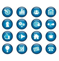 bisnis icon vector image vector image