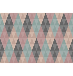 Triangles diamond seamless pattern vector image vector image