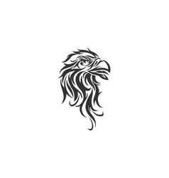 Bird phoenix bird logo vector