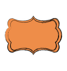 board decoration ornament template image vector image