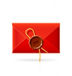confidential mail icon vector image