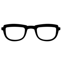 Glasses hipster style vintage glasses vector
