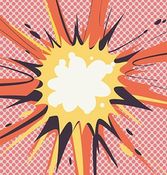 Grunge Comic Cartoon Effects vector image vector image