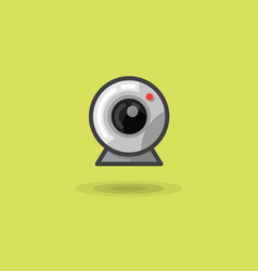 Icon web camera for computer or laptop vector