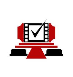 Movie deal vector