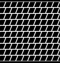 Repeatable mosaic pattern with parallelograms vector