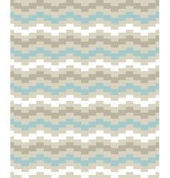 Beautiful striped chevron pattern vector image