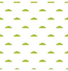 Golf course pattern cartoon style vector image vector image