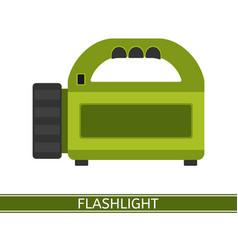 flashlight icon vector image vector image