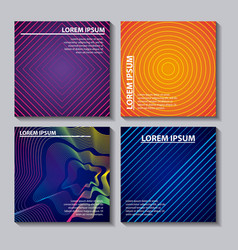 abstract covers background vector image