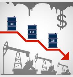 Barrel oil vector