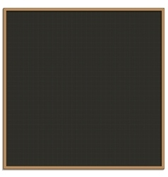 Black chalk board for drawing vector image