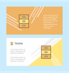 cupboard abstract corporate business banner vector image