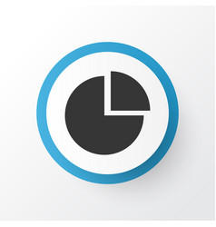 Diagram icon symbol premium quality isolated pie vector
