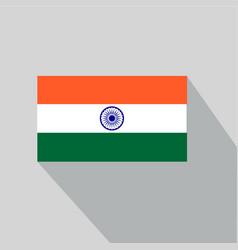 Flat-india-flag vector