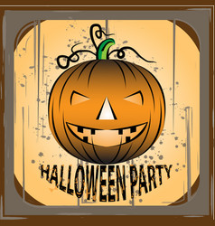 halloween image design template vector image