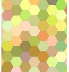Light color hexagon mosaic background vector