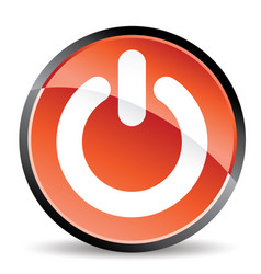 power standicon in mode vector image