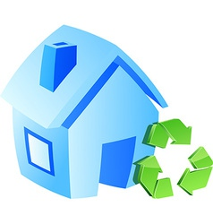 Save home symbol vector image