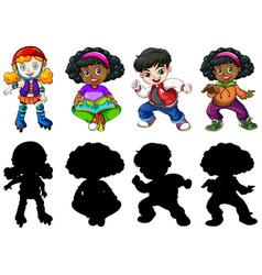 Set different children vector