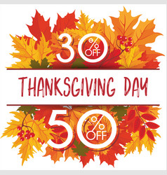 thanksgiving day 27 vector image