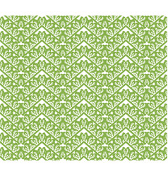 greenery zigzag seamless pattern background vector image vector image