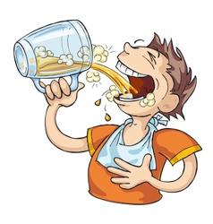 Beer Lover vector image vector image