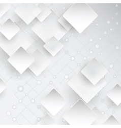 Abstract background with lattice and squares vector image vector image