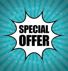 Special offer design vector