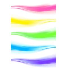 Abstract design element web wave bannerheader vector image vector image