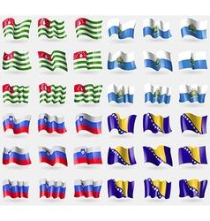 Abkhazia San Marino Slovenia Bosnia and vector