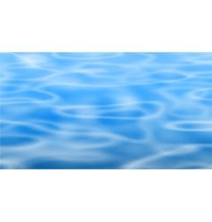 Blue pool vector