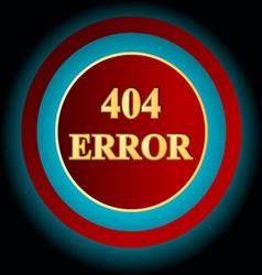 Error symbol vector