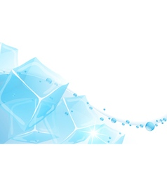 Ice Water vector