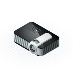 Isometric Projector vector