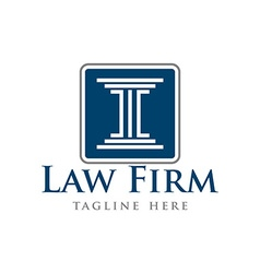 Law Firm Logo Template vector
