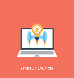 Startup launch vector