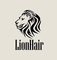Lionhair logo vector