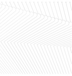 abstract white line shapes background vector image
