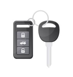 Car Key with Remote Control vector image vector image