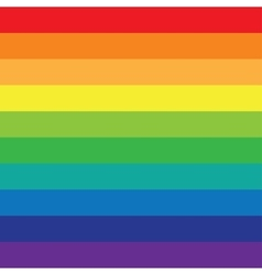 Rainbow background colored lines vector