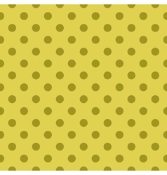 Tile green pattern or seamless dots background vector